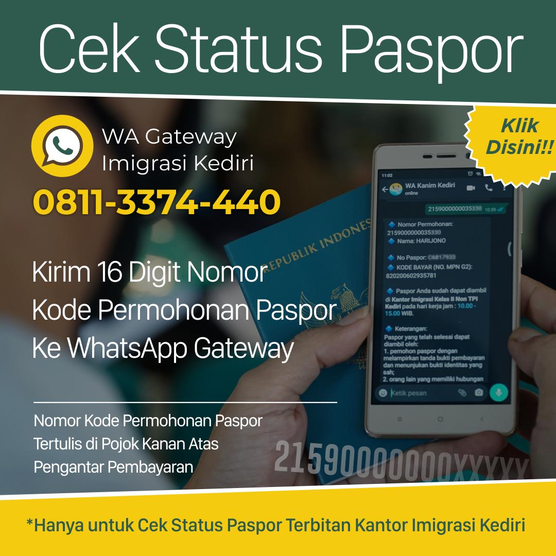Cek Status Paspor